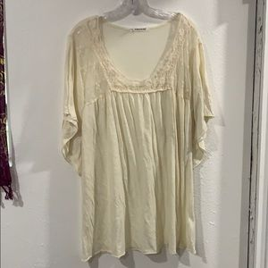 Maurices off white blouse